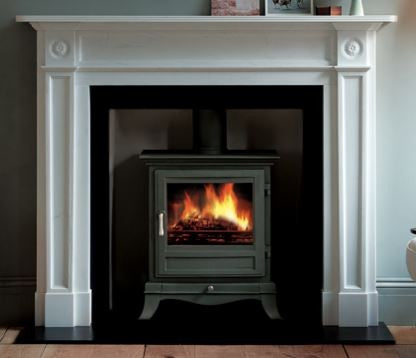 Chesney Beaumont - Non-Boiler Stove, Free Standing, Solid Fuel, 8 Kw, Matt, Black, No External Air