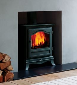 Chesney Belgravia - Non-Boiler Stove, Free Standing, Solid Fuel, 8 Kw, Matt, Black, No External Air