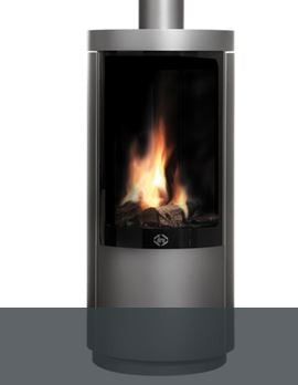 Dru Circo - 7 Kw, Remote Control, Natural Gas, Standard Glass