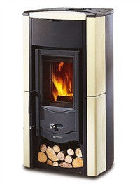 La Nordica Fiammetta 6kw - No, Free Standing, Wood Only, 6 Kw