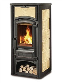 La Nordica Fiorella 6kw - No, Free Standing, Wood Only, 6 Kw