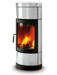 La Nordica Fortuna 7kw - No, Free Standing, Wood Only, 7 Kw