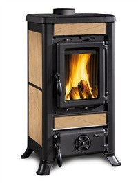 La Nordica Fulvia 6kw - No, Free Standing, Wood Only, 6 Kw
