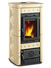 La Nordica Gaia 6kw - No, Free Standing, Wood Only, 6 Kw
