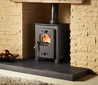 Hamlet Hardy 5 - Boiler Stove, Free Standing, Solid Fuel, 5 Kw, Matt, No External Air