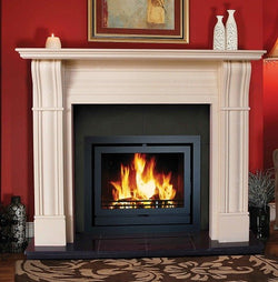 "Heat Design Irish Corbel 54 & 60 - 60"", Marfil Stone"