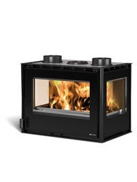 La Nordica Inserto 70 Crystal 3 Lati 10kw - No, Insert, Wood Only, 10 Kw