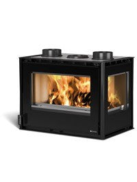 La Nordica Inserto 70 Crystal Angolo 9kw - No, Insert, Wood Only, 9 Kw