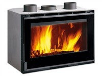 La Nordica Inserto 80 Crystal Ventilato 9.5kw - No, Insert, Wood Only, 9 Kw