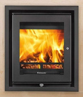 Jetmaster 18i - Non-Boiler Stove, Inset, Solid Fuel, 5 Kw, Matt, 4 Sided, No External Air