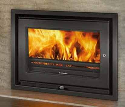 Jetmaster 70i Low - Non-Boiler Stove, Inset, Solid Fuel, 8 Kw, Matt, 4 Sided, External Air