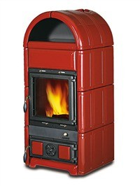 La Nordica Luna 9kw - No, Free Standing, Wood Only, 9 Kw