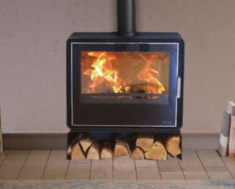 Henley Orion 700 - Non-Boiler Stove, Free Standing, Solid Fuel, 11-13 Kw, Matt, External Air, Log Box