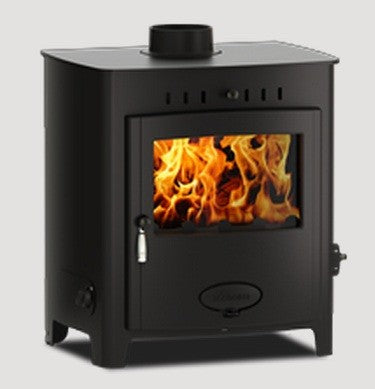Stratford EB20HE - Boiler Stove, Free Standing, Solid Fuel, 26-30 Kw, Matt, Black, External Air