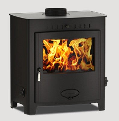 Stratford EB25HE - Boiler Stove, Free Standing, Solid Fuel, 26-30 Kw, Matt, Black, No External Air