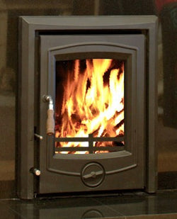 Glass for Henley Achill 6.6kw inset stove