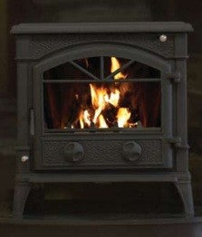 Henley Cladagh - Non-Boiler Stove, Free Standing, Solid Fuel, 14-16 Kw, Matt, Black, No External Air
