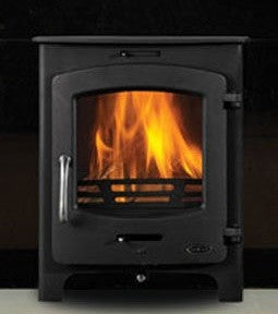 Henley Oxford 7kw - Non-Boiler Stove, Free Standing, Solid Fuel, 7 Kw, Matt, Black, No External Air