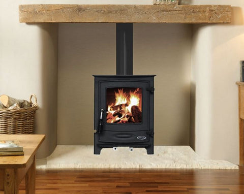 henley yale 5kw non boiler stove free standing solid fuel 5 kw
