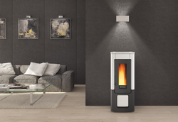 Extraflame WENDY -Airtight Pellet Stove, Free Standing, 10 kW