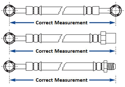 Correct Hose Measurement