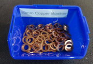 "10mm & 3 8"" Copper Washer"