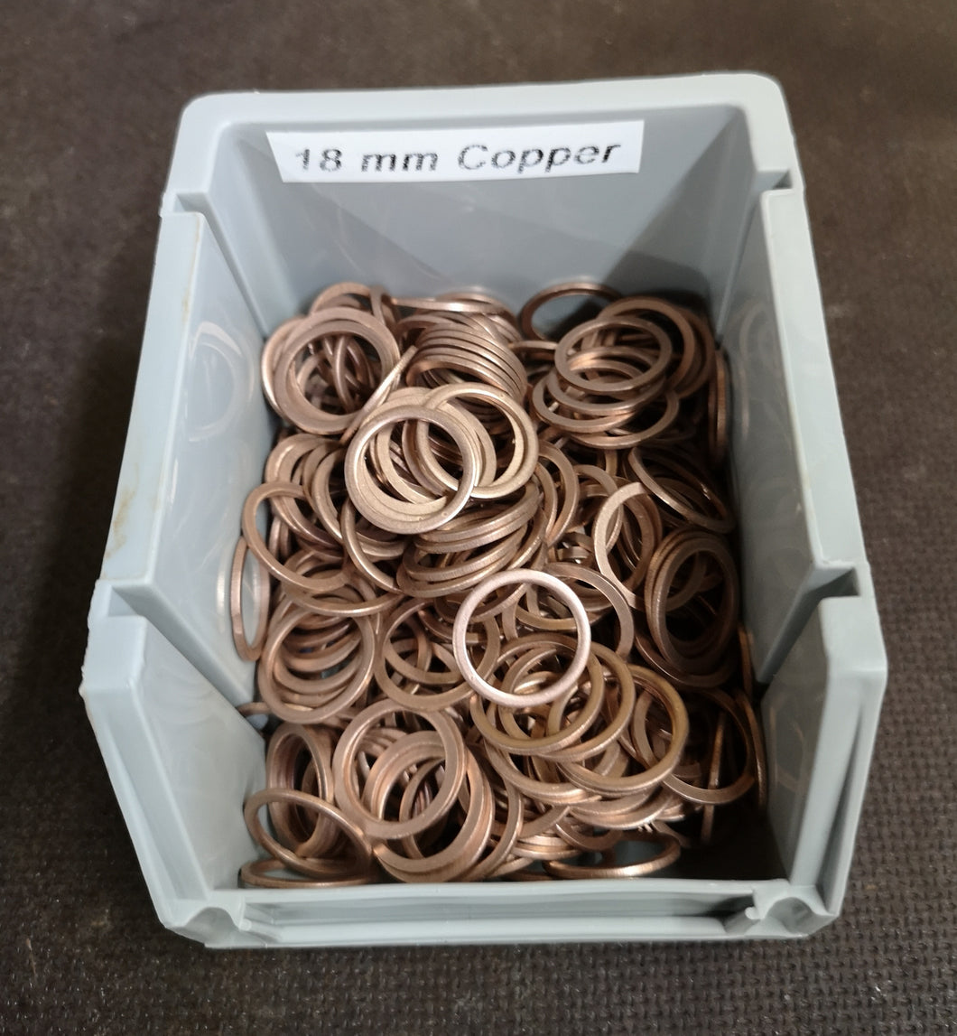 18mm Copper Washer