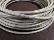 -4 Clear PVC Coated Stainless Steel Braided Hose