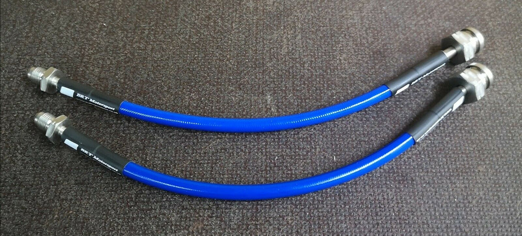 Abarth 500 / 595 / 695 Rear Braided Brake Hose's