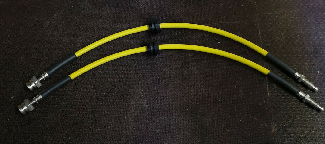 Abarth 500 / 595 Front Braided Brake Hose's