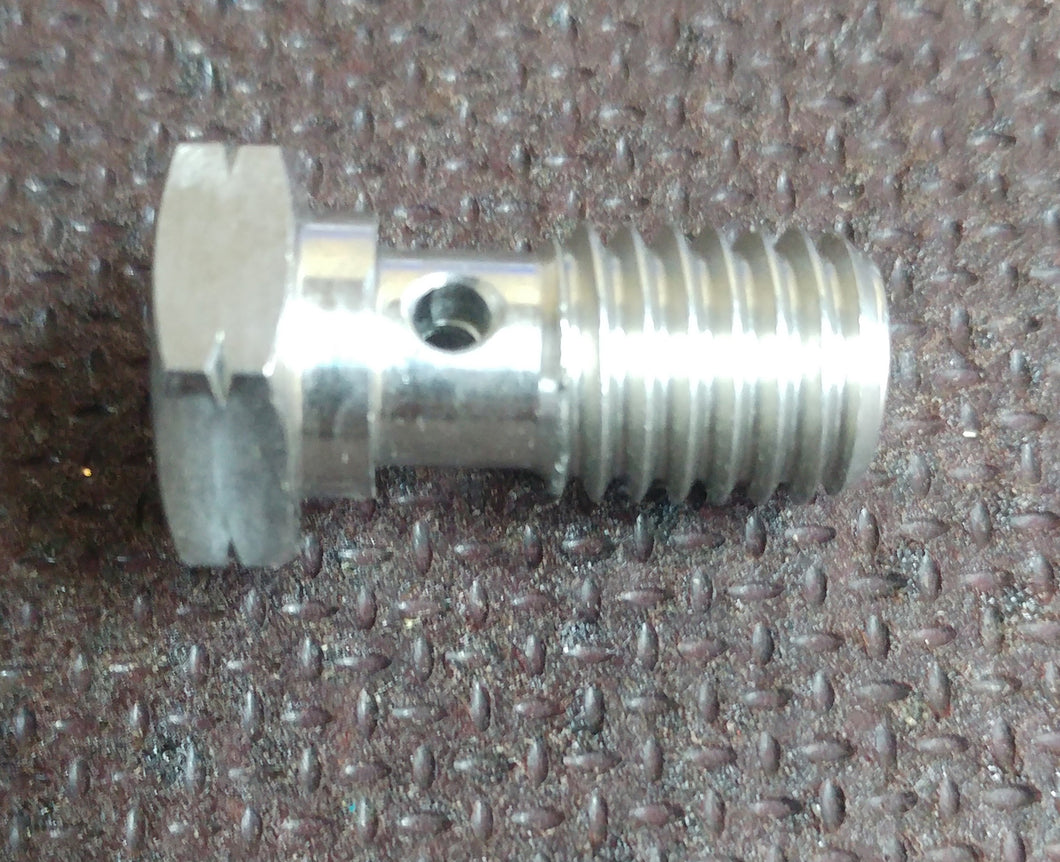 M10x1.5 Stainless Steel Restricted Turbo Banjo Bolt