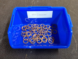 M8 Copper Washer