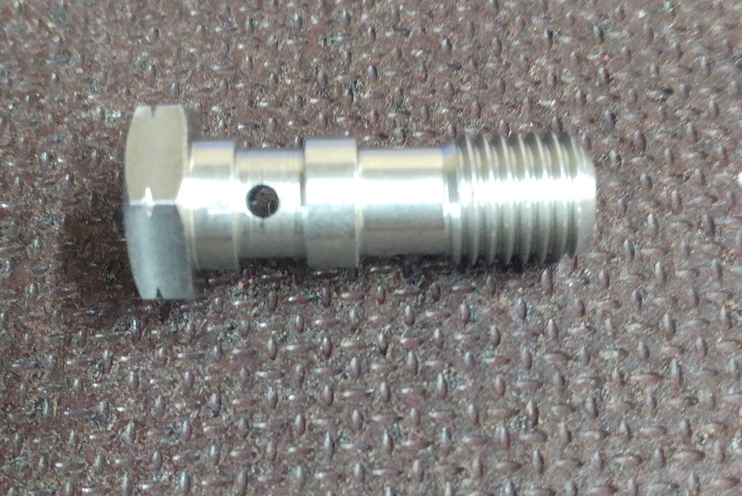 M10 x 1.25 Stainless Steel Double Banjo Bolt