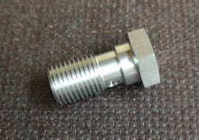 M12 x 1.25 Stainless Steel Restricted Turbo Banjo Bolt