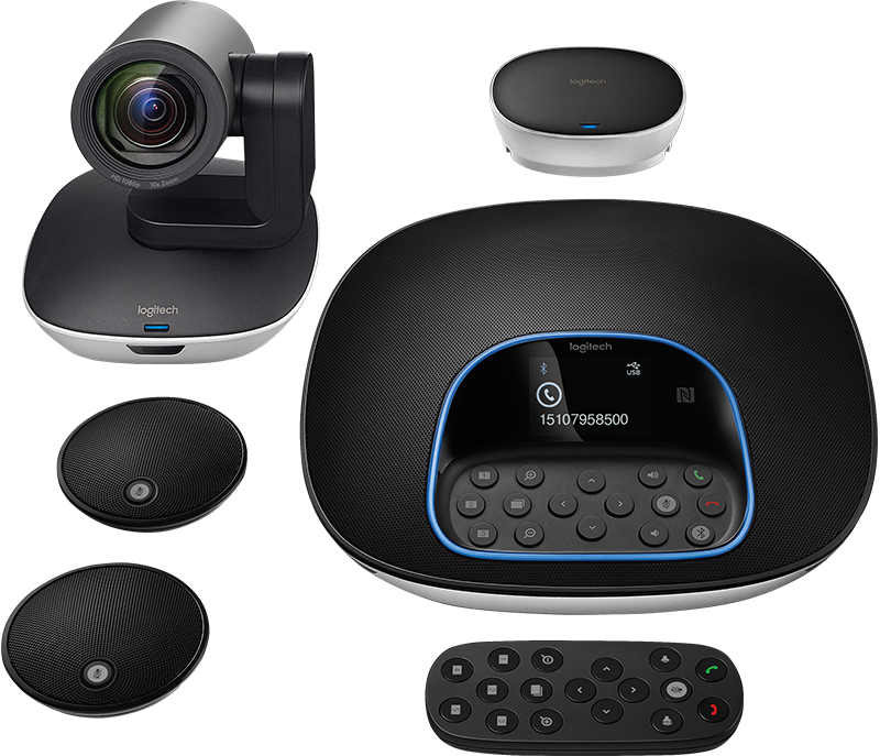 Logitech Group + Expansion Microphones | Teamtel