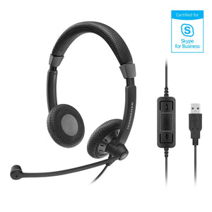 Sennheiser SC 70 USB MS headset - Teamtel