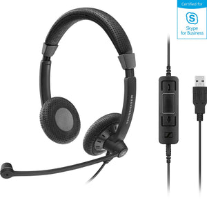 Sennheiser SC 75 USB MS headset - Teamtel