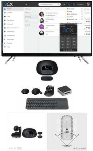 Video Conferencing Solution (Large) | Teamtel