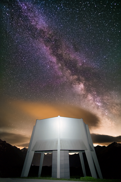 MILKYWAY IN SAN BERNARDINO PASS poster
