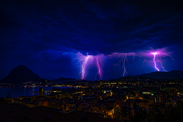 LUGANO LIGHTNING STORM SEPTEMBER 2020 poster