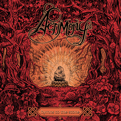 Acrimony Hymns To The Stone 2LP orange black vinyl - Roadburn / Burning World Mailorder