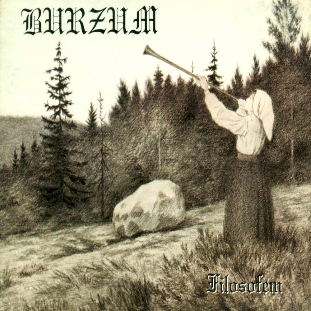 Burzum Filosofem 2LP vinyl Black metal Norway - Roadburn / Burning World Mailorder