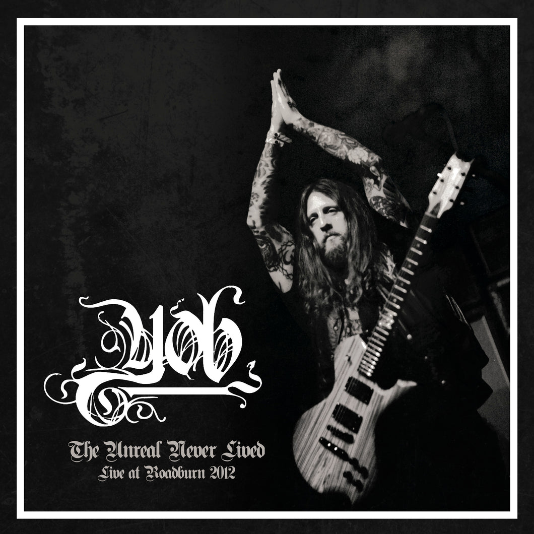 Yob The Unreal Never Lived Live At Roadburn 2012 2LP vinyl orange black pre-order - Roadburn / Burning World Mailorder