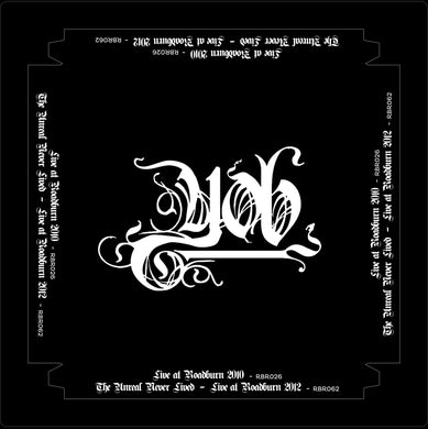 Yob Live At Roadburn 2010 and 2012 4LP box vinyl black - Roadburn / Burning World Mailorder
