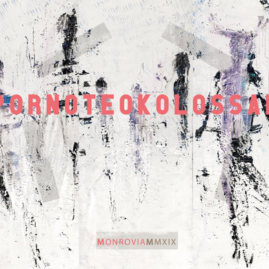 PORNO TEO KOLOSSAL Monrovia LP silver black - Roadburn / Burning World Mailorder