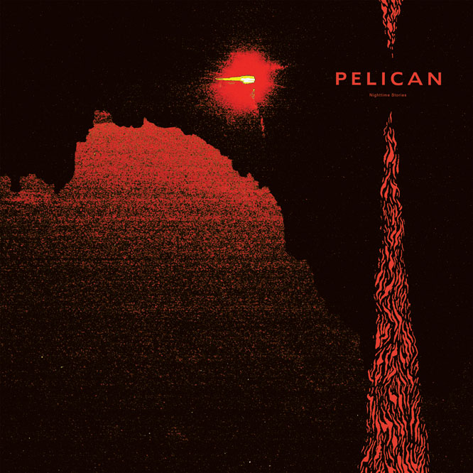 Pelican Nighttime Stories 2LP vinyl Southern Lord orange black cd - Roadburn / Burning World Mailorder