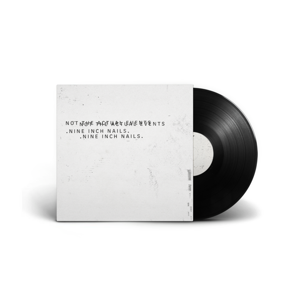 Nine Inch Nails (NIN) Not The Actual Events LP 2017 vinyl repress - Roadburn / Burning World Mailorder