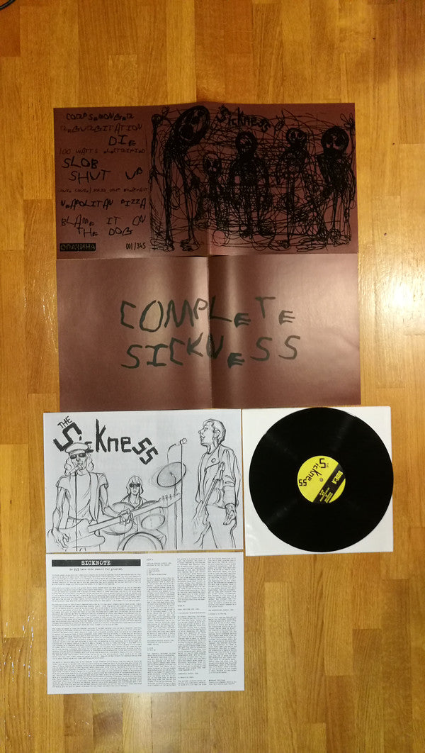 The Sickness ‎– Complete Sickness LP vinyl - Roadburn / Burning World Mailorder