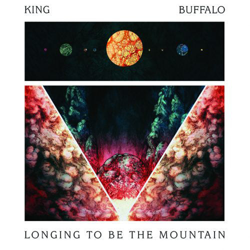 King Buffalo ‎Longing To Be On The Mountain silver vinyl CD+LP Stickman - Roadburn / Burning World Mailorder