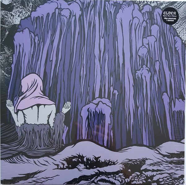 Elder Spires Burn purple Vinyl, LP, Album - Roadburn / Burning World Mailorder